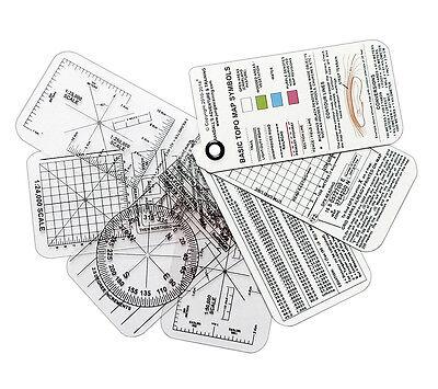 ESEE Compas Cartes Land Navigation avec UTM Grille de référence Overlay carte outil
