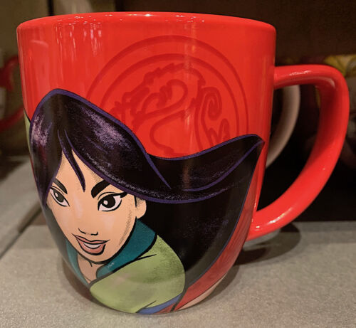 Disney Parks Mulan Live With Honor Portrait Ceramic Mug Cup NEW