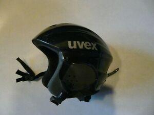 Skihelm Snowboardhelm Uvex schwarz Grösse XS 53-57 gebraucht Markenhelm
