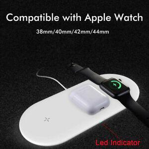 Base de carga del cargador inalámbrico QI para Apple Watch...