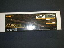 Fox Camolite Single 12ft Rod Jacket Sleeve Carp fishing tackle
