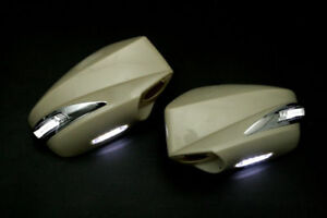 Scion FR-S Subaru BRZ Side Mirror Cover w/LED DRL White Toyota 86 GT86 FRS