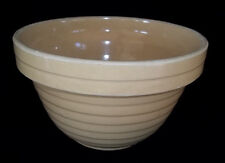 """7"""" Vintage  Pottery Stone Ware BOWL U.S.A.Band Step Style 4 1/2"""" Tall Medium"""