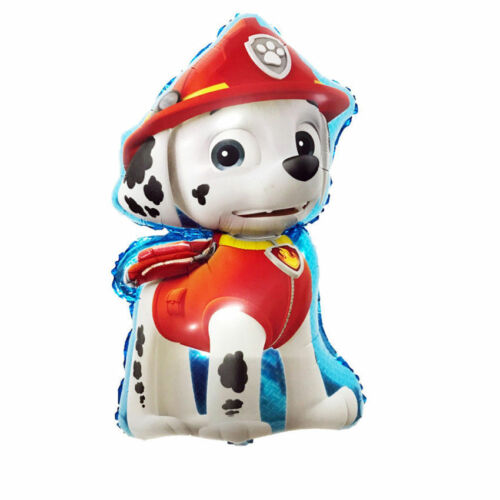 Large Paw Patrol Chase Marshall Kids Party Helium Foil Balloon.UK STOCK