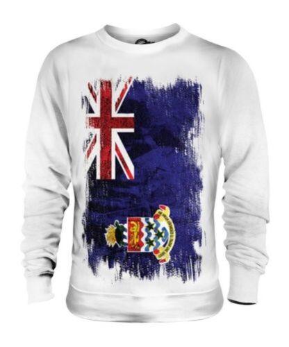 Bandiera Caymanian Camicia Cayman Grunge Islands Maglione Unisex Del xOBwvOq