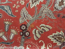 Wesley Barrell Curtain/Upholstery Fabric TREE OF LIFE 2.3m 100% Wool 230cm