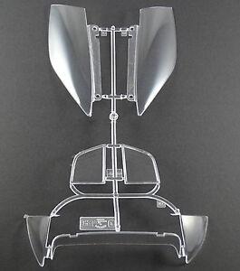 Pocher-1-8-Seitenfenster-Set-am-Spritzling-Ferrari-F40-K-55-neu-Baugruppe-F-I3