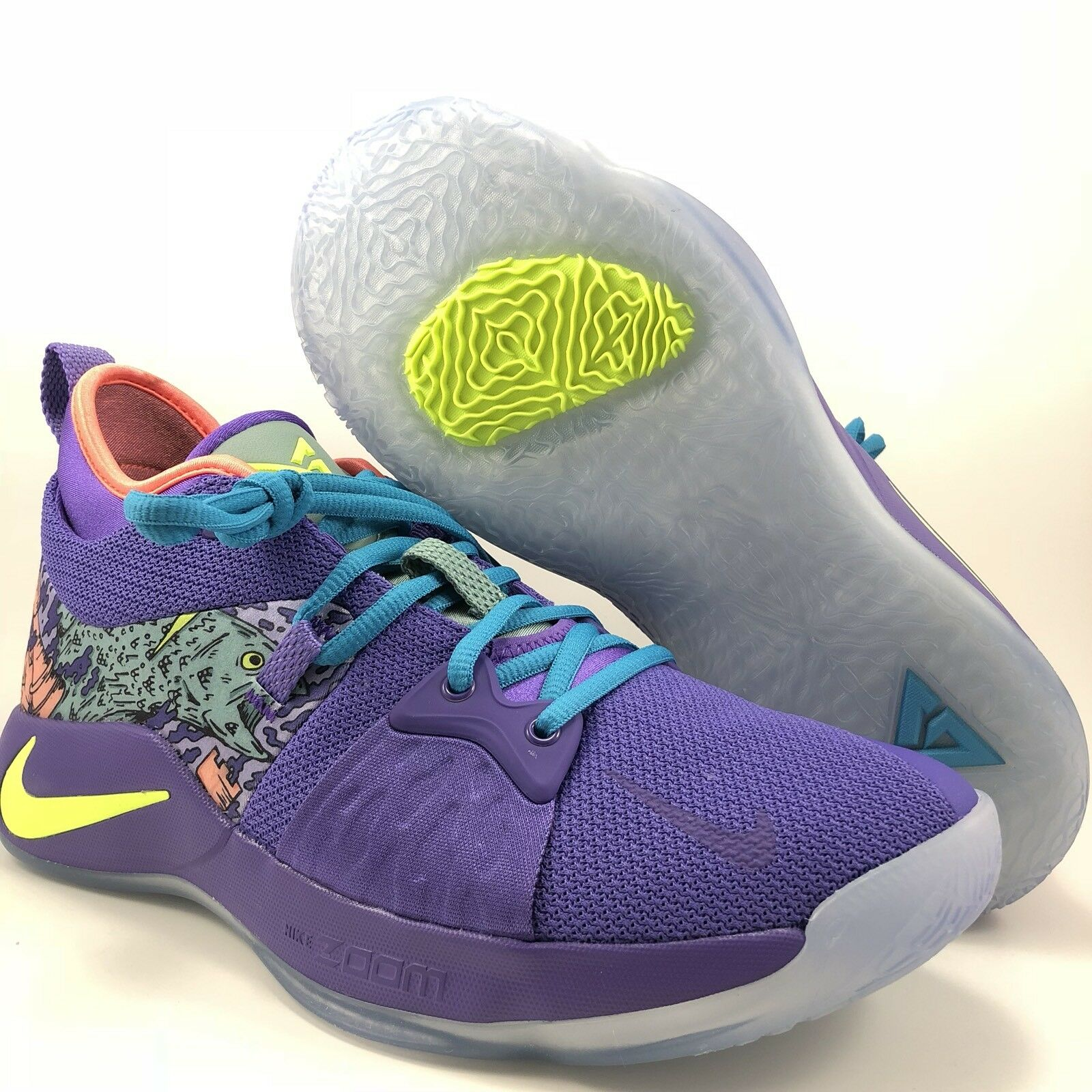 nike pg paul ii mamba mentalité cannon violet paul pg george   taille 8,5 (ao2986 001) 1aab9a