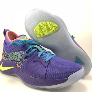 best service 79a97 b625a Details about Nike PG II Mamba Mentality Cannon Purple Paul George Mens  Size 8.5 (AO2986 001)