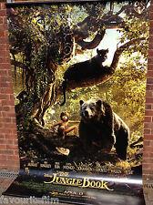 Cinema Banner: JUNGLE BOOK 2016 (Mowgli & Baloo) Idris Elba Scarlett Johansson