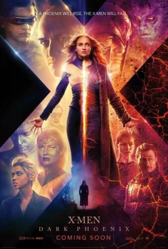 Y255 Dark Phoenix Movie Jean Grey 2019 X-Men Art Sikl Poster Custom 36 32x48inch