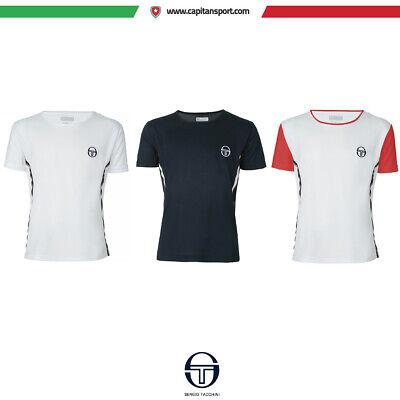 2019 Moda Sergio Tacchini - Game Jrf 222 - T-shirt Donna Tennis/sport - Art. Sa51222s Durevole In Uso