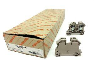 Lot-of-38-Weidmuller-1020300000-WDU-10-Terminal-Blocks