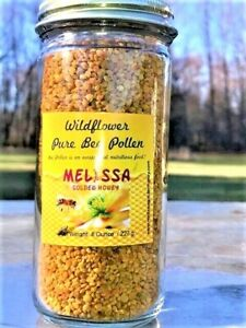 SALE-Bee-Pollen-Granules-Fresh-2019-Pure-Natural-Wildflower-Super-Food-8-oz