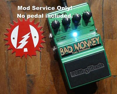 Modify your Behringer Vintage Tube Overdrive No Pedal Alchemy Audio Mod Service