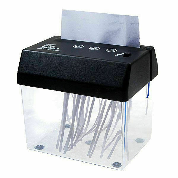 Portable Electric Paper Shredder Home