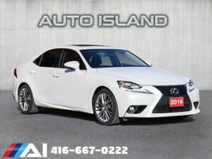 2016 Lexus IS ALL WHEEL DRIVE**LEATHER**BACK UP CAMERA**LIKE NEW!!