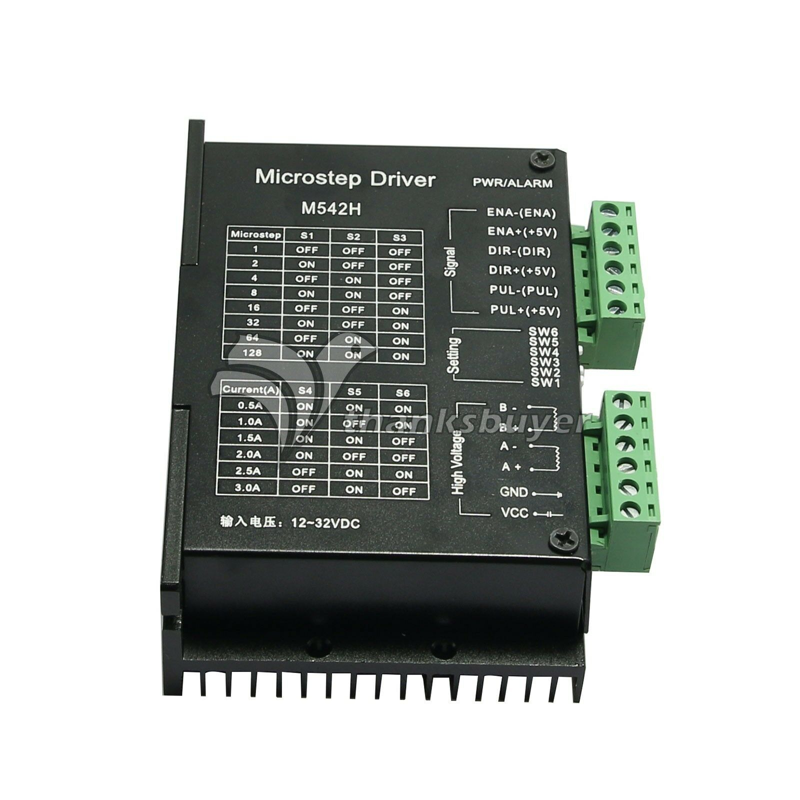 M542h 3a Cnc Stepper Motor Driver Controller 2 Phase 128