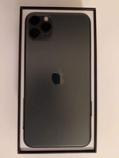 Apple iPhone 11 Pro Max - 64 Go-Minuit Vert (débloqué) - parfait état.