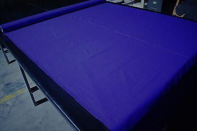 """SPL 100% Cotton Royal Blue 10 OZ. Bull Denim Canvas Twill Fabric 58""""W"""