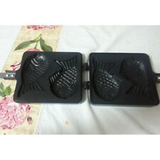 Korea fish cakes Taiyaki fans Waffle Iron Stove Double Sided Standard  Pan