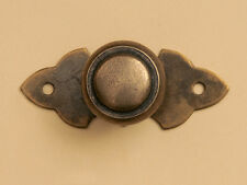 Möbelknopf  Oberfläche Messing-Antik Durchmesser 30 mm