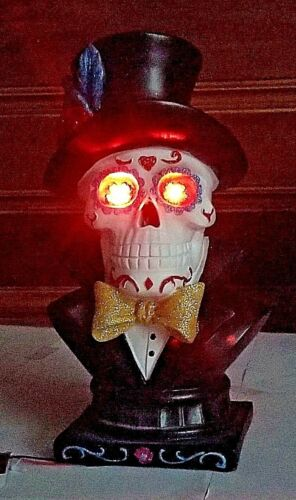 Your Choice!!!!!! Day of the Dead Sugar Skull Statues Halloween Figurine