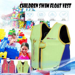 Faltbar-Kinder-Schwimmhilfe-Schwimmende-Jacke-Schwimmweste-Kind-Unterstuetzung