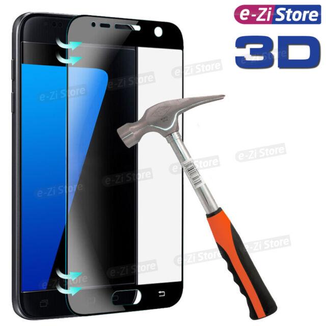 Vitre Samsung Galaxy S7 Film Protection Verre Trempé Total 3D Ecran Intégral