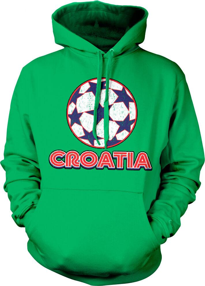 Croatia Football Hoodie Mens Boys Hrvatska Sport Sweater Training Gift Euros B40