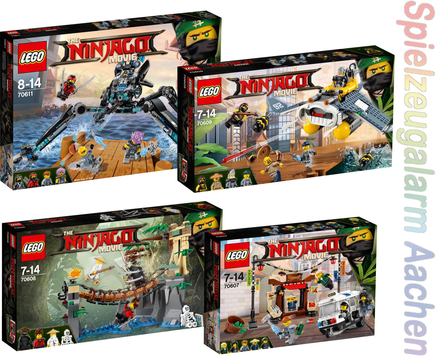 LEGO NINJAGO value SET 70607+70608+70609+70611 N8/17