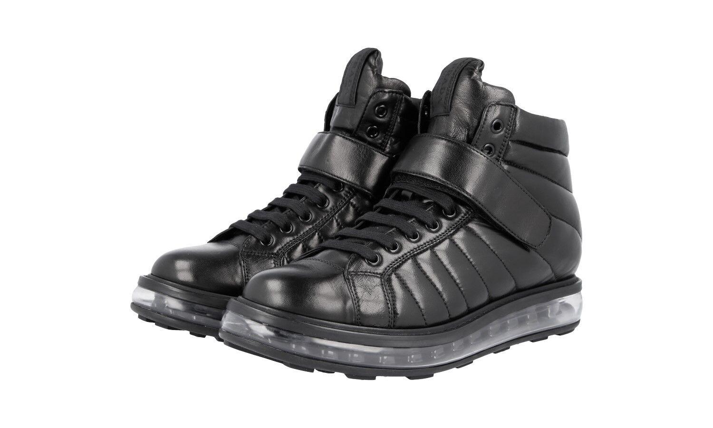 shoes PRADA LUSSO 1T334E black NUOVE 37,5 38