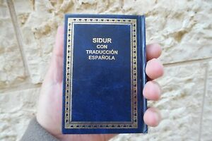 JB35-Sidur-Espanol-Spanish-Hebrew-Espanola-Siddur-Jewish-Pray-Book-Synagogue