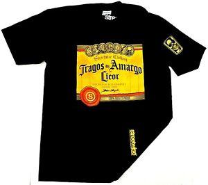 STREETWISE-TRAGOS-AMARGOS-T-shirt-Urban-Streetwear-Tee-Men-L-4XL-Black-NWT