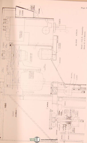 Pratt Whitney Model C Machines Parts Lists Manual 1965 Tape O Matic Drilling