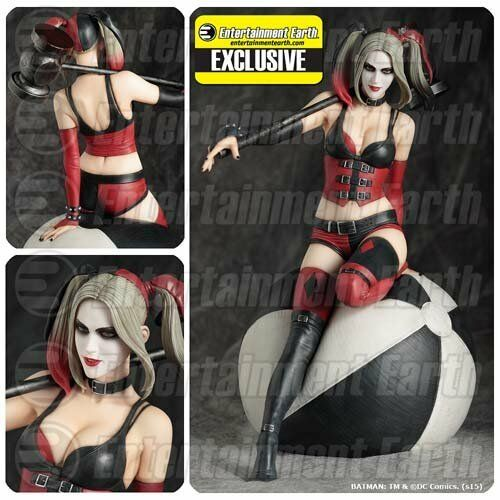Harley Quinn Statue Résine Fantaisie Figurine DC Comics Collection EE Exclusive