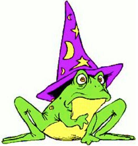 30 Custom Wizard Frog Personalized Address Labels