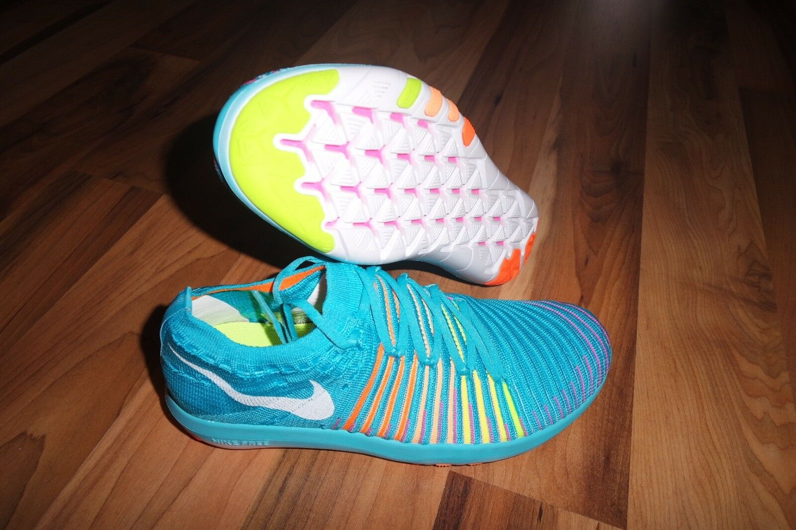 Nike WMNS Free Transform Flyknit Running Chaussures Trainers 833410 400  6.5 EU 37.5