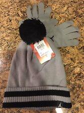 promo code 8d2a7 dd04c item 5 NIKE AIR JORDAN Youth Boys Beanie Knit Hat Glove Set Black Grey  Snowboard (8-20) -NIKE AIR JORDAN Youth Boys Beanie Knit Hat Glove Set  Black Grey ...