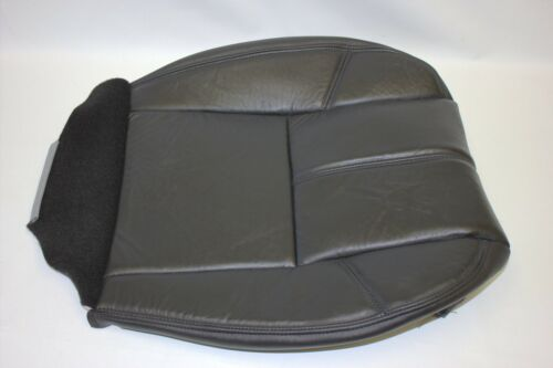 2007 2008 2009 GMC Yukon Denali 4WD Driver Side Bottom Leather Seat Cover Black