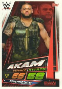 WWE Slam Attax 12 Universe Card 289-tripleh-OMG moments