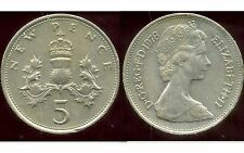 ROYAUME UNI   five   5  pence 1978  ( bis )