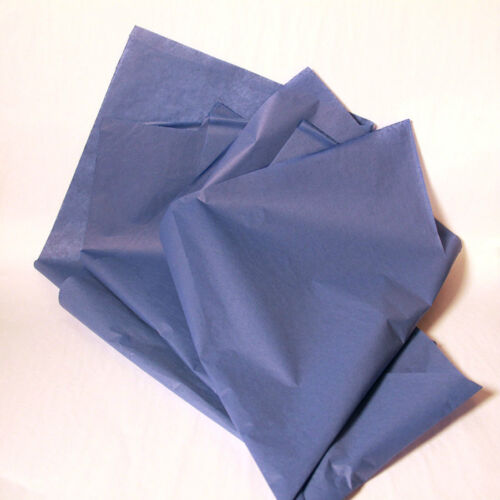 480 Sheets!!! New Dark Blue Wrapping Tissue Paper