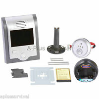 Digital Video Peephole With Camera For Home Office Security System Doorbell
