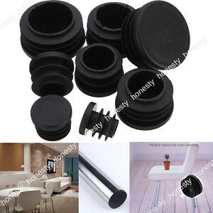 4-10PC-Round-Plastic-Chair-Leg-Glide-Cap-Plug-Tubing-Pipe-Insert-Floor-Protector