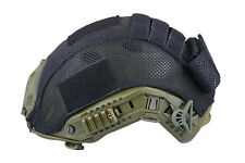AIRSOFT FAST PJ TYPE BASE JUMP HELMET COVER MOD . B BLACK UK stock