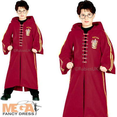Buono Deluxe Quidditch Robe Kids Costume Harry Potter Book Day Ragazzi Ragazze Costume-mostra Il Titolo Originale