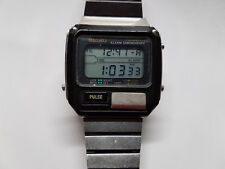 vintage seiko s229 5019 pulse alarm chronograph watch running with rh ebay com Best Pulse Watches Pulse Watches for Men