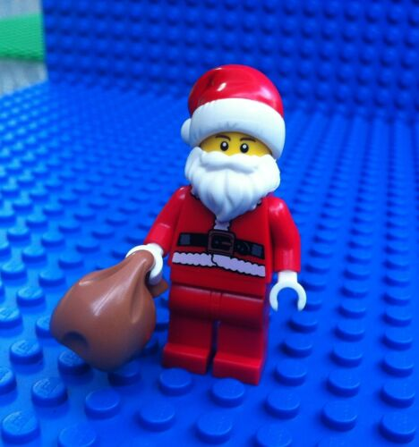 Lego City Town SANTA CLAUS Minifigure Minifigs Advent