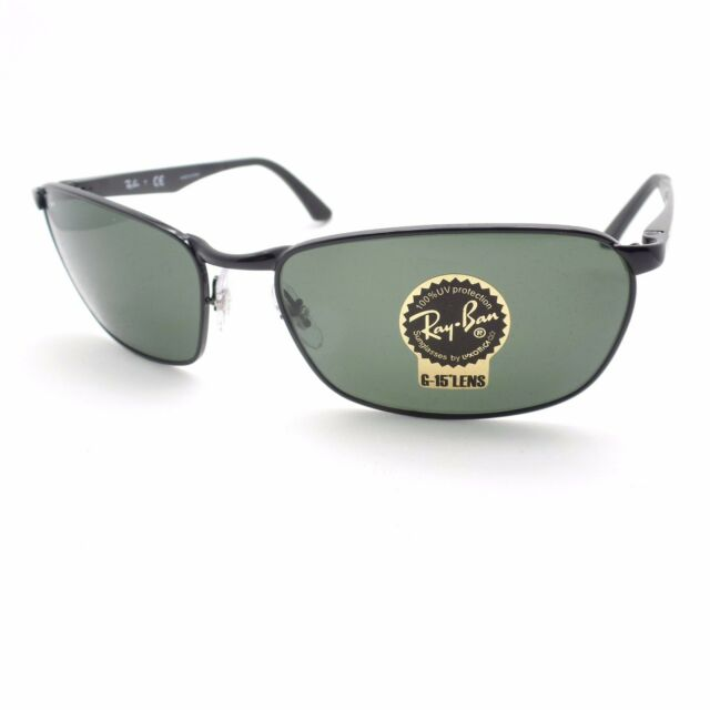 b8791557572 Ray-Ban Rb3534 002 Black Frame Green Classic 62mm Lens Sunglasses ...